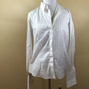 Thomas Pink White Stripe Shirt US size 12